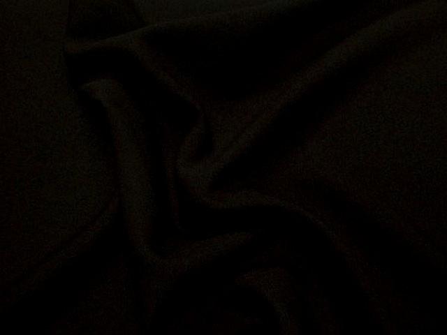 Polyester stretch marron cachou 1