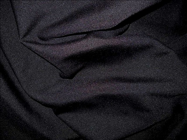 Polyester stretch noir 2