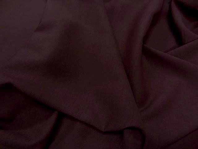 Polyester stretch rouge brique