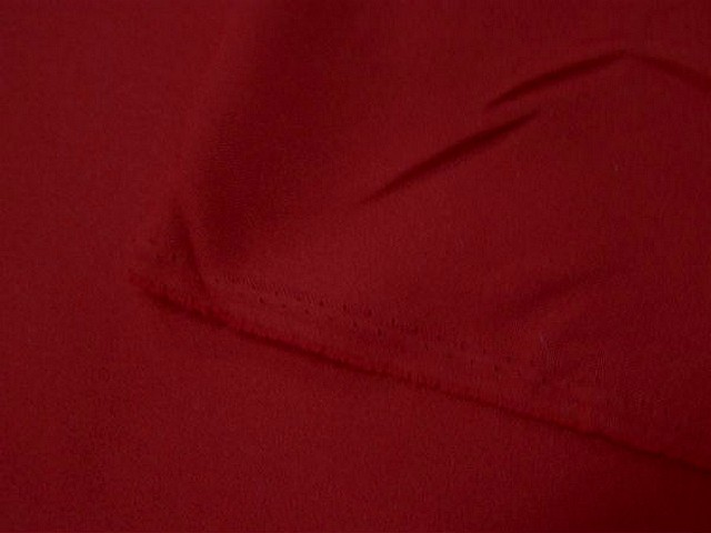 Polyester stretch rouge cramoisi 2