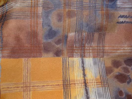 Polyester vintage orange 3