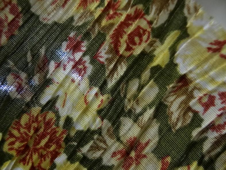 Polyester viscose fleuri 2