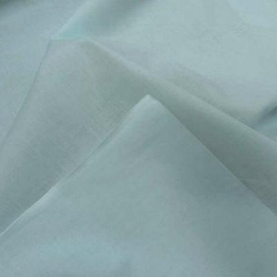 Popeline coton bleu givre 2