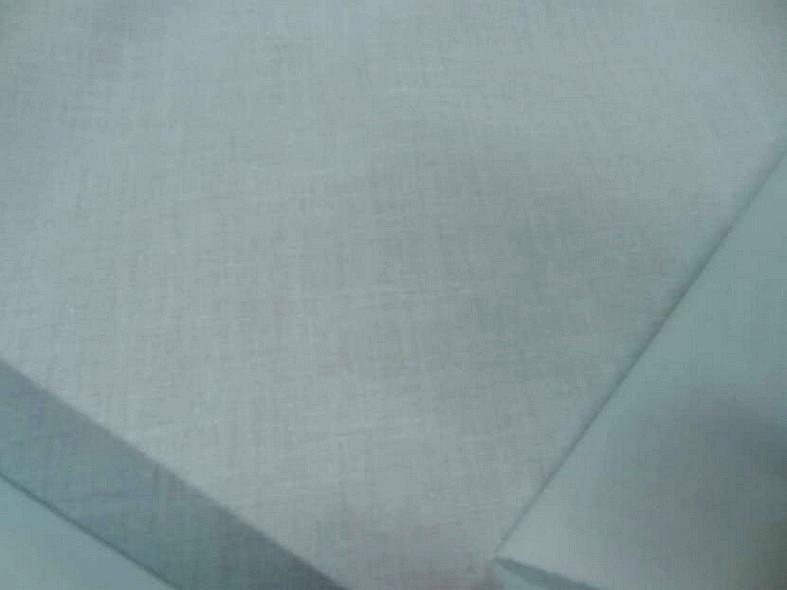 Popeline coton bleu givre