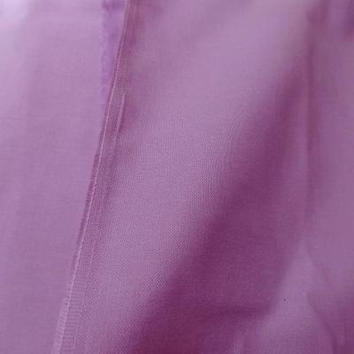 Popeline coton mauve 3 1