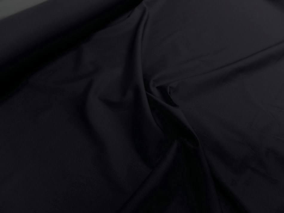Popeline coton noire