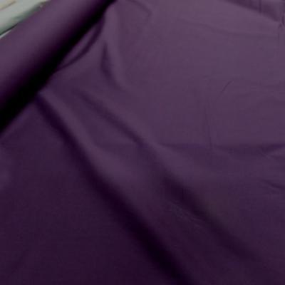 Popeline coton uni ton violet