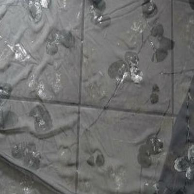 Résille gris argentée 01