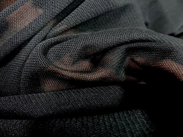 Resille extensible dans la largeur noire