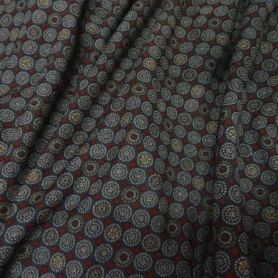 Resille gris fonce motif pyjama vintage