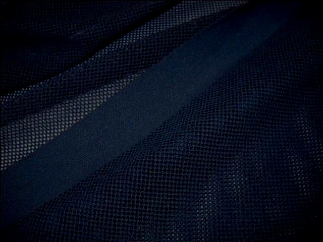 Resille lycra bleu nuit 2
