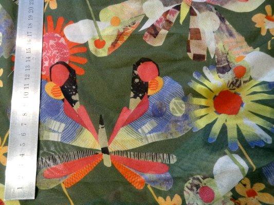 Résille lycra vert anglais jardin merveilleux 02