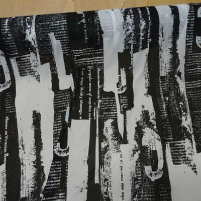 Resille page imprimee noir et blanc 2