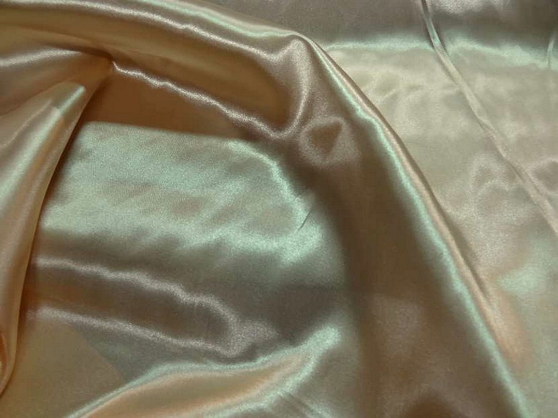 Satin beige or poly 1
