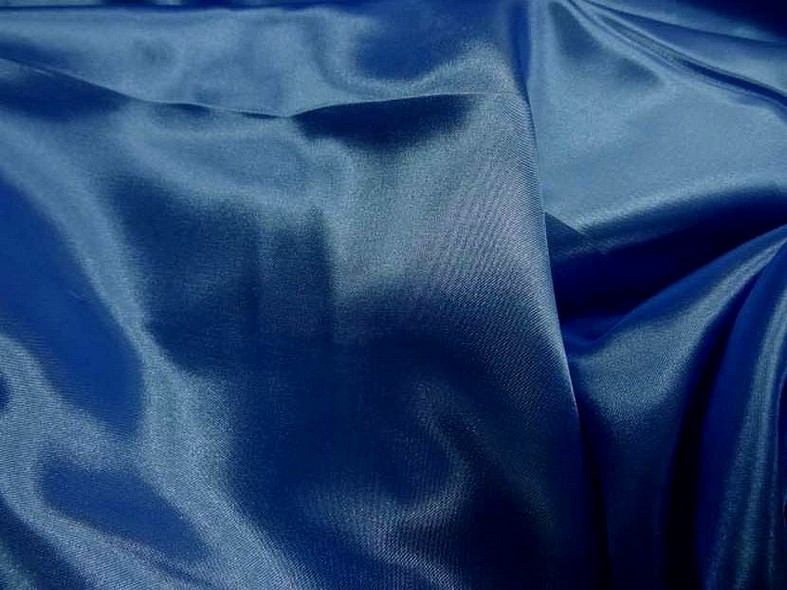Satin bleu roi poly 2