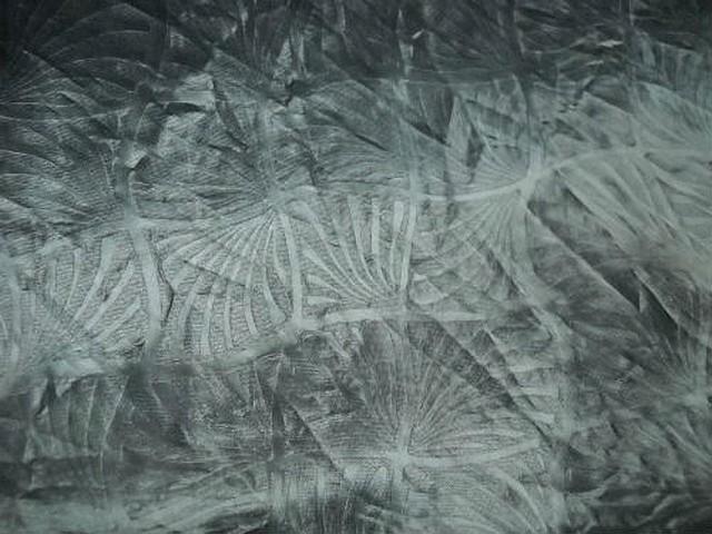 Satin gris metal motif japonais 3