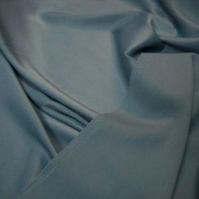 Satin lycra bleu ciel pastel 3
