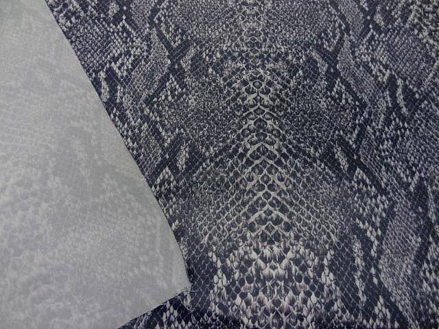 Satin lycra imprime serpent 1