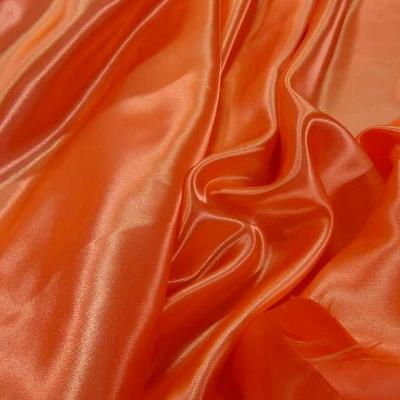 Satin orange corail poly 3