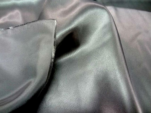 Satin polyester gris metal 3