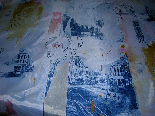 Satin polyester paris 3
