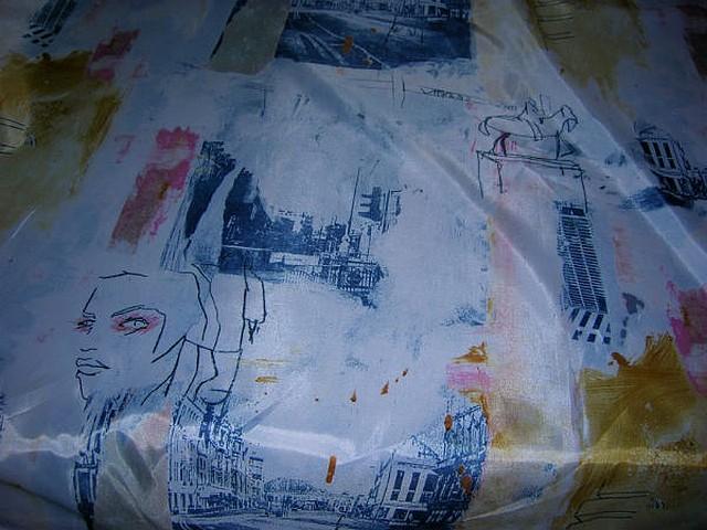 Satin polyester paris 4