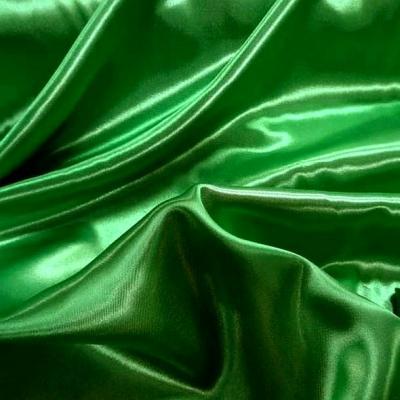 Satin vert emeraude poly 3