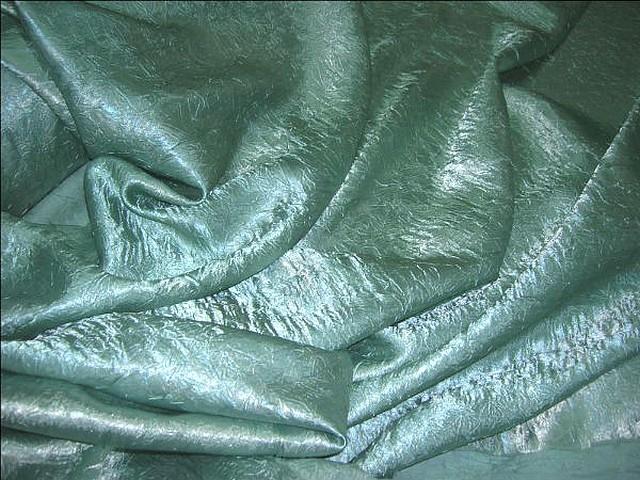 Satin vert lichen glacier nervure 1