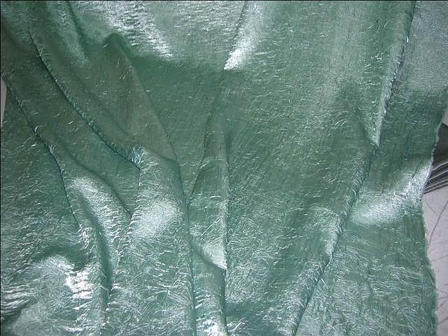 Satin vert lichen glacier nervure 2