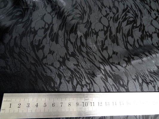 Satin viscose noir 03