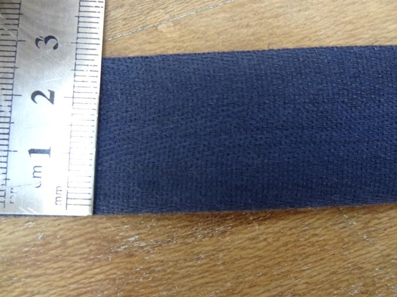 Serge bleu de prusse 30 mm 2