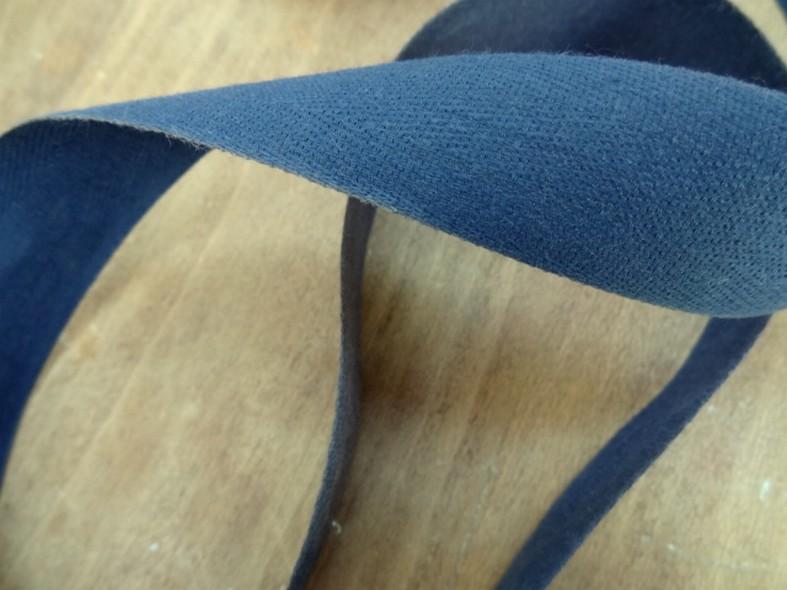 Serge bleu de prusse 30 mm