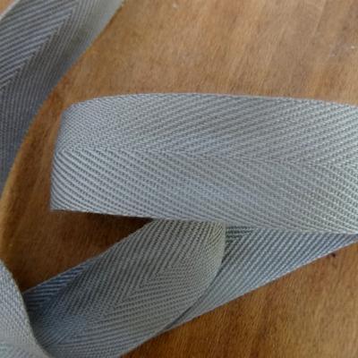 Serge gris perle 24 mm 1