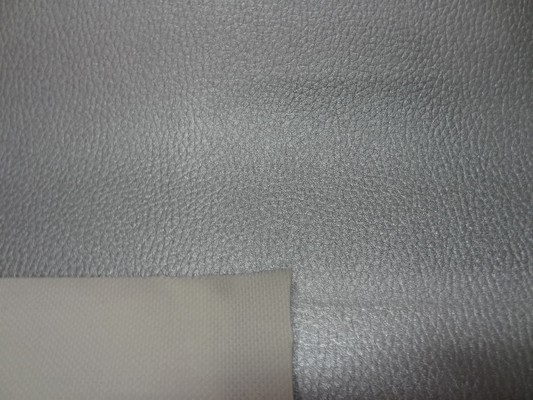 Simili cuir martele gris metal2 1