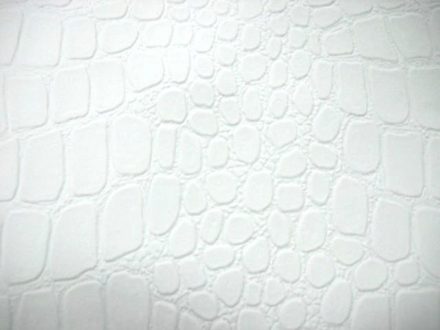 Skai croco blanc 1