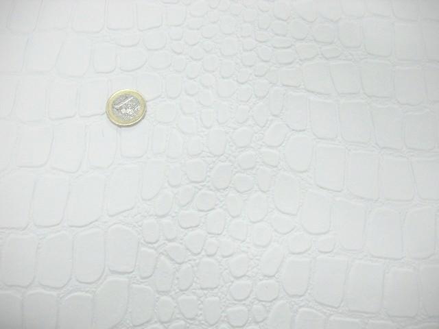 Skai croco blanc 3