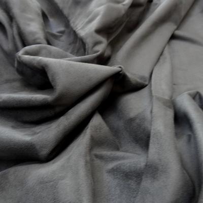 Skai et suedine reversible noir et gris souris 1