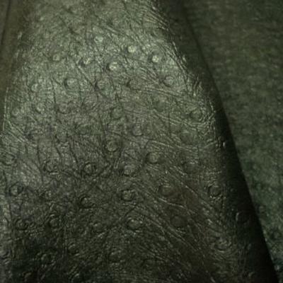 Skai imitation autruche kaki 2