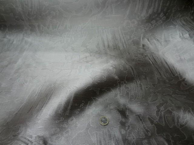 Soie gris plomb faconnee effet marbre 2