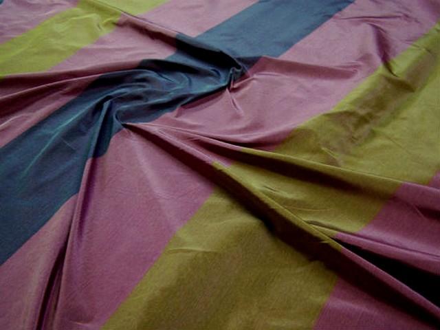 Taffetas bandes larges 3 couleurs 1