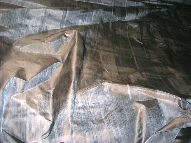 Taffetas beige grise imitant tissage relief 1