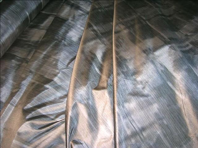 Taffetas beige grise imitant tissage relief 2