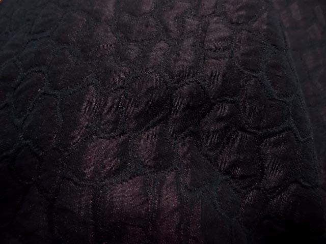 Taffetas changeant damasse reptile rouge bordeaux 2
