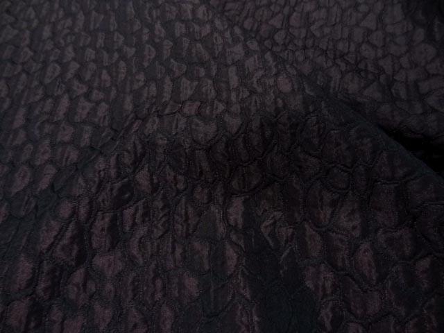 Taffetas changeant damasse reptile rouge bordeaux 3
