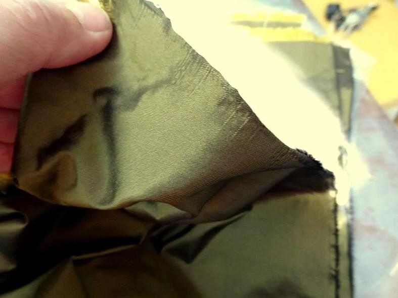 Taffetas de soie mordore 2 1