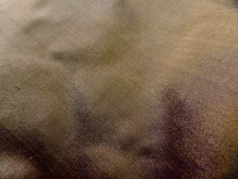 Taffetas de soie mordore 2