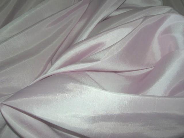 Taffetas fin couleur rose nymphe 2