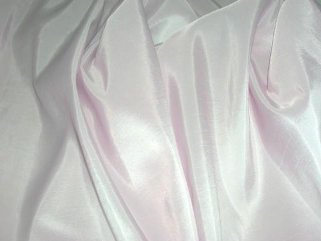 Taffetas fin couleur rose nymphe 3