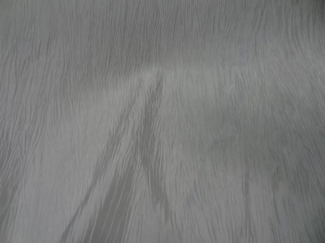 Taffetas froisse blanc casse