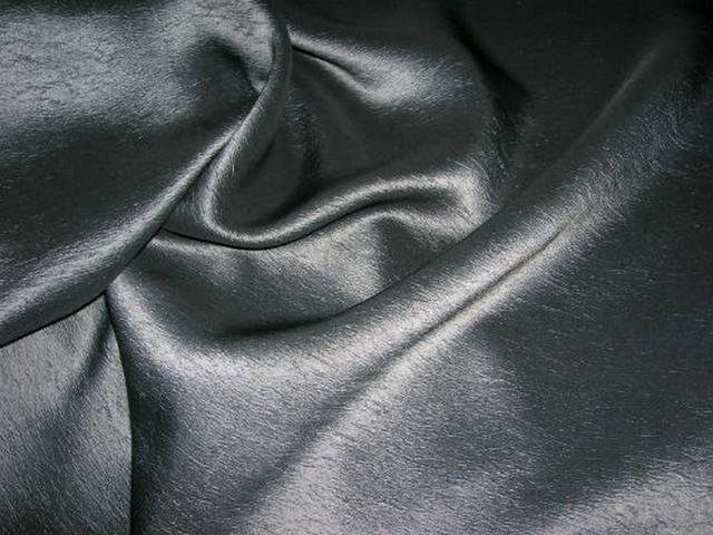Taffetas gris metal aspect papier velin 2